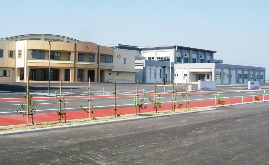 横手北中学校